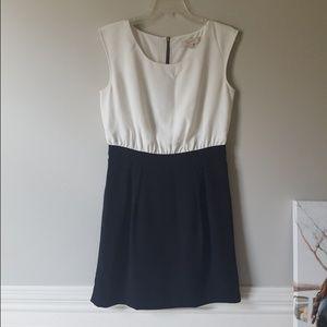 LOFT | Black & White Dress | Sz 4